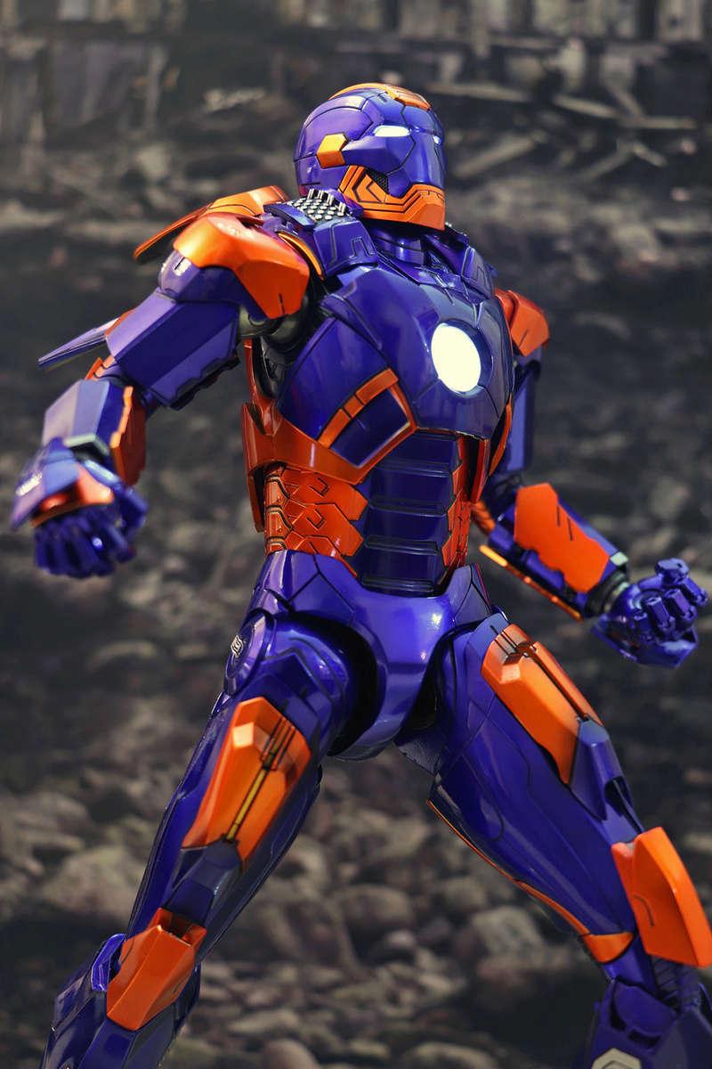 Iron Man 3 - Iron Man Mark XXVII (27) 1/6 (Hot toys) 23184811