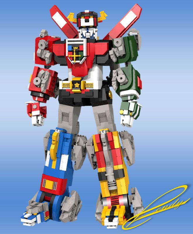 Voltron (Lion Voltron) (Lego) 24103110