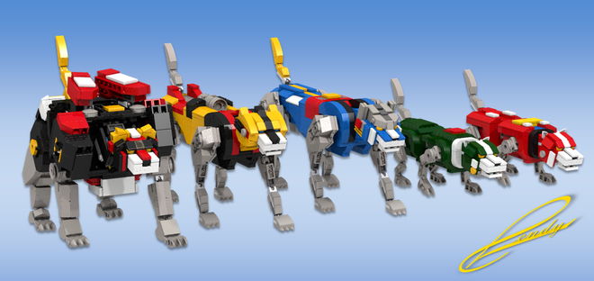Voltron (Lion Voltron) (Lego) 24103111