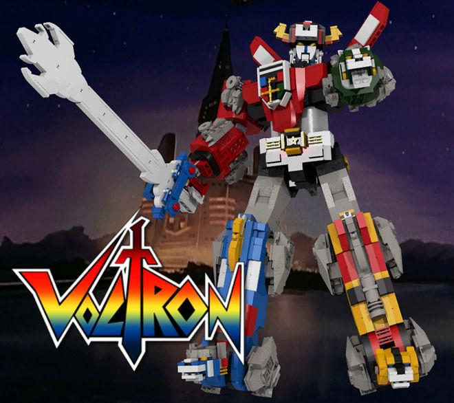 Voltron (Lion Voltron) (Lego) 24103211