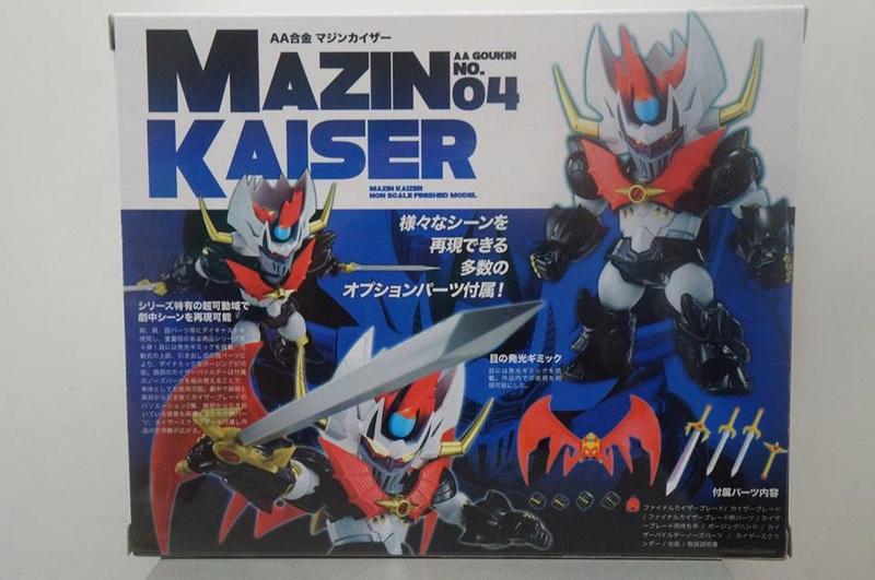 AA Gokin Mazinkaiser Metallic Version Mazinger Z (Arcadia) 28279012