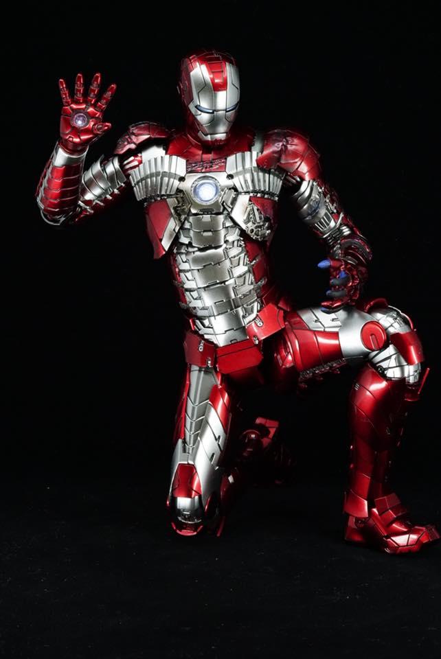 Iron Man 2 - Mark V (5) 1/6 (Hot toys) 32266910