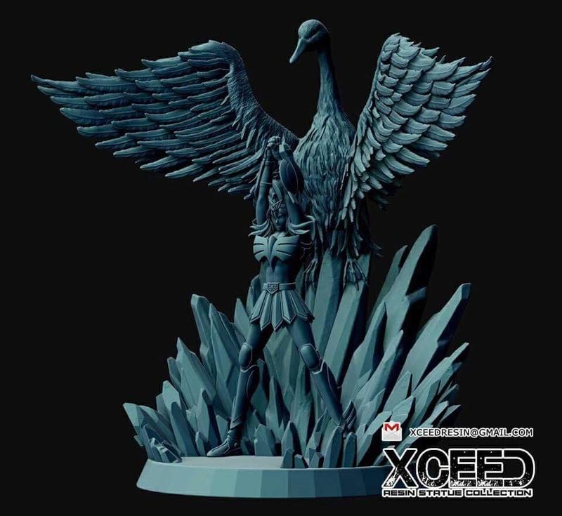 [XCEED Resin Figure Collection] Hyoga Chevalier de Bronze du Cygne V1 32474710