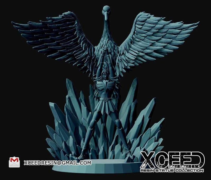 [XCEED Resin Figure Collection] Hyoga Chevalier de Bronze du Cygne V1 32536810