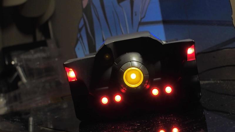 DCC Batman Animated Series Batcave Playset ft. Alfred & Batmobile 4ujxx110