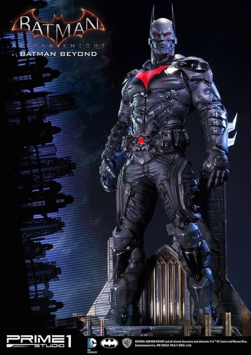 Batman : Arkham Knight - Batman Beyond 1/6 (Prime 1 Studio) Batman10