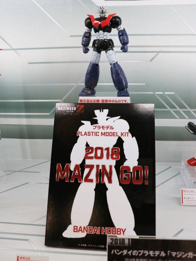 Mazinger & Great Mazinger Z Infinity - Plastic Model Kit (Bandai) Bckp10