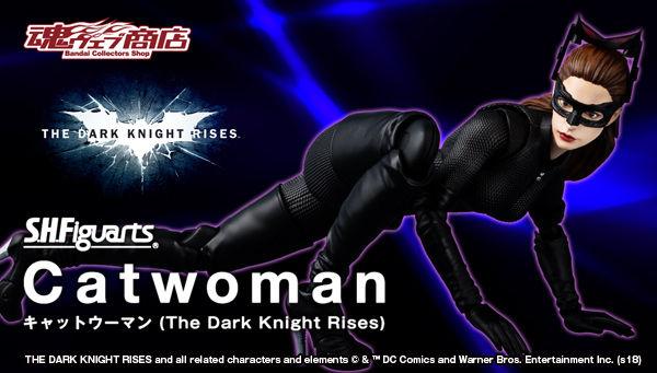 Catwoman - Batman The Dark Knigh rises - SH Figuarts (Bandai) Bnr_sh17