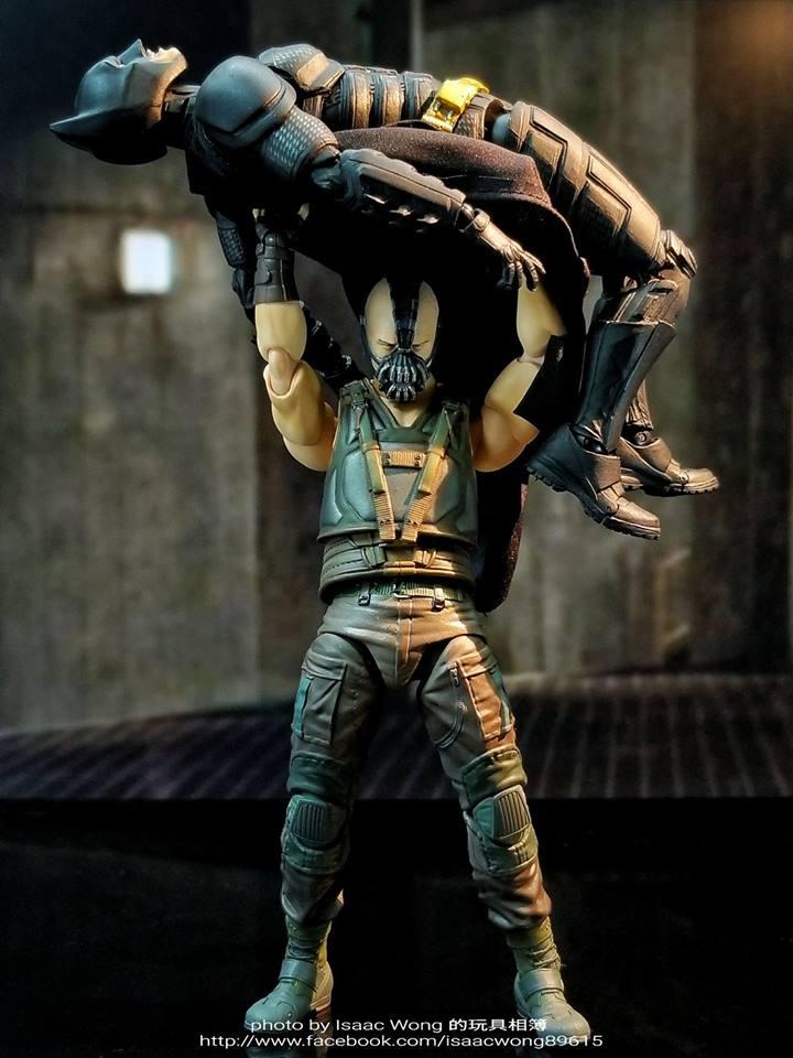 Batman The Dark Knight Rises : Bane Mafex (Medicom Toys) Hldycm10