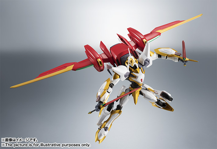 "Gundam : Code Geass - Metal Robot Side KMF ""The Robot Spirits"" (Bandai) Item_036"