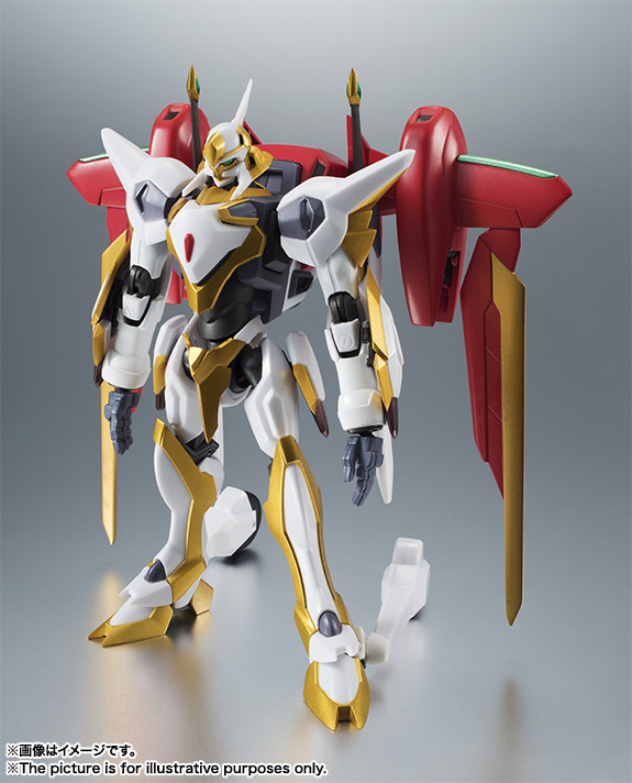 "Gundam : Code Geass - Metal Robot Side KMF ""The Robot Spirits"" (Bandai) Item_037"