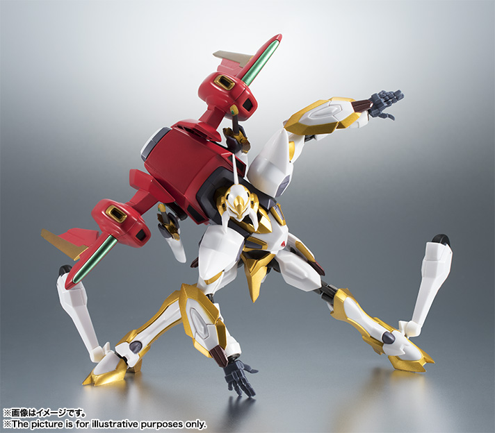 "Gundam : Code Geass - Metal Robot Side KMF ""The Robot Spirits"" (Bandai) Item_038"
