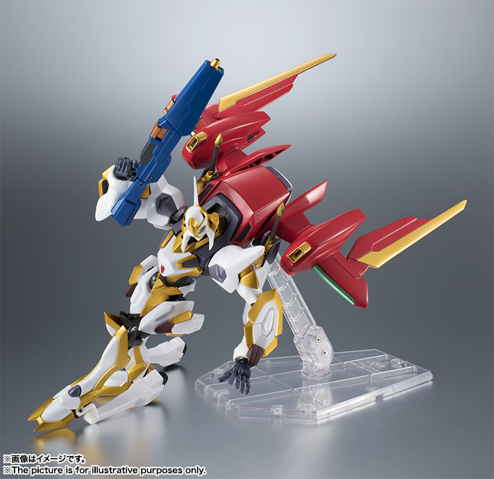 "Gundam : Code Geass - Metal Robot Side KMF ""The Robot Spirits"" (Bandai) Item_039"