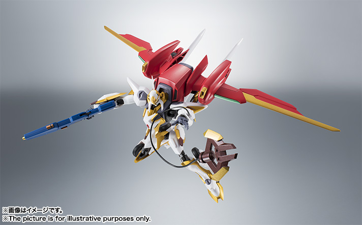 "Gundam : Code Geass - Metal Robot Side KMF ""The Robot Spirits"" (Bandai) Item_040"