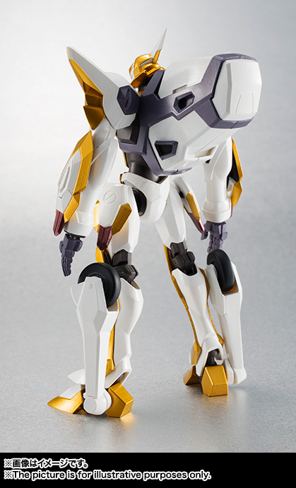 "Gundam : Code Geass - Metal Robot Side KMF ""The Robot Spirits"" (Bandai) Item_041"