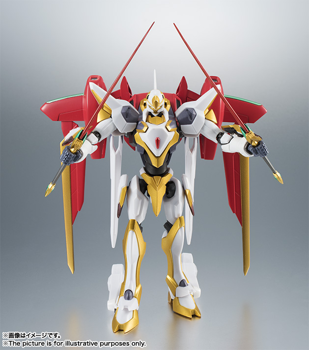"Gundam : Code Geass - Metal Robot Side KMF ""The Robot Spirits"" (Bandai) Item_042"