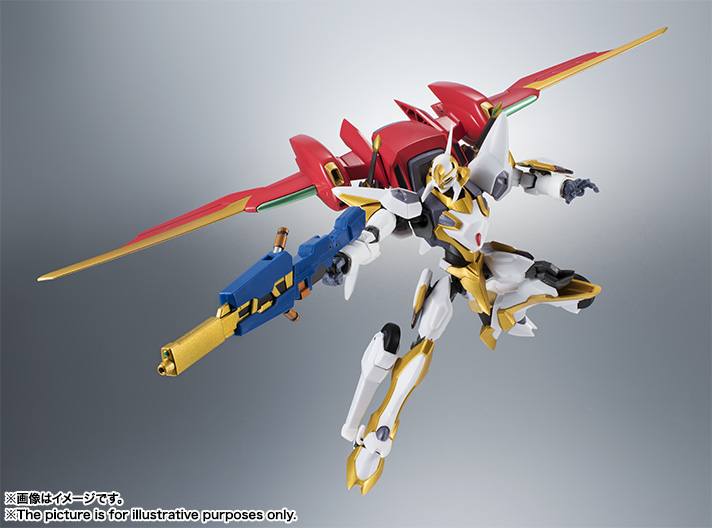 "Gundam : Code Geass - Metal Robot Side KMF ""The Robot Spirits"" (Bandai) Item_043"
