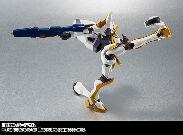 "Gundam : Code Geass - Metal Robot Side KMF ""The Robot Spirits"" (Bandai) Item_044"