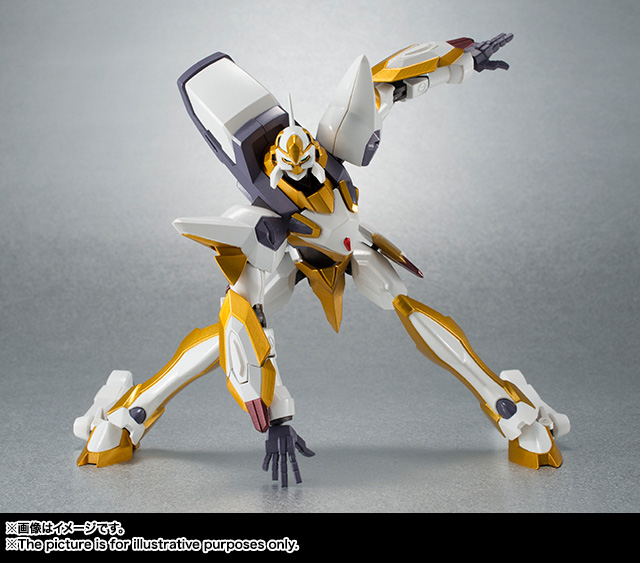 "Gundam : Code Geass - Metal Robot Side KMF ""The Robot Spirits"" (Bandai) Item_045"