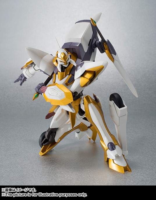 "Gundam : Code Geass - Metal Robot Side KMF ""The Robot Spirits"" (Bandai) Item_046"