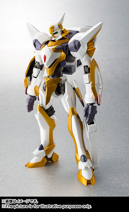 "Gundam : Code Geass - Metal Robot Side KMF ""The Robot Spirits"" (Bandai) Item_047"