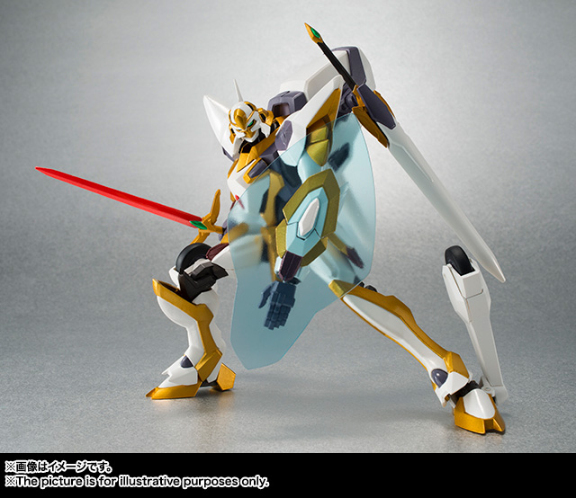 "Gundam : Code Geass - Metal Robot Side KMF ""The Robot Spirits"" (Bandai) Item_048"