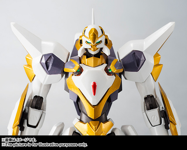 "Gundam : Code Geass - Metal Robot Side KMF ""The Robot Spirits"" (Bandai) Item_049"