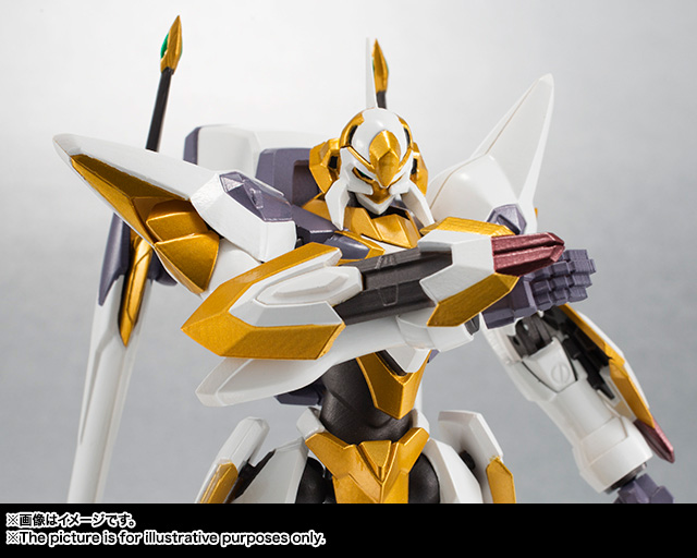 "Gundam : Code Geass - Metal Robot Side KMF ""The Robot Spirits"" (Bandai) Item_050"