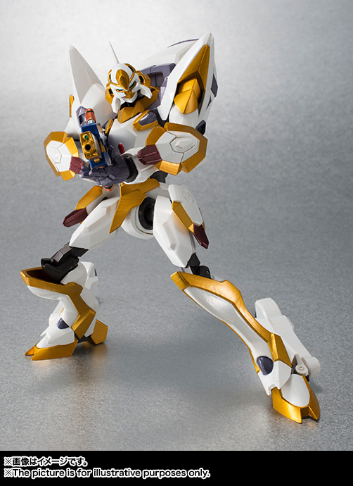"Gundam : Code Geass - Metal Robot Side KMF ""The Robot Spirits"" (Bandai) Item_051"