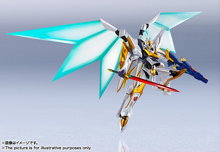 "Gundam : Code Geass - Metal Robot Side KMF ""The Robot Spirits"" (Bandai) Item_234"