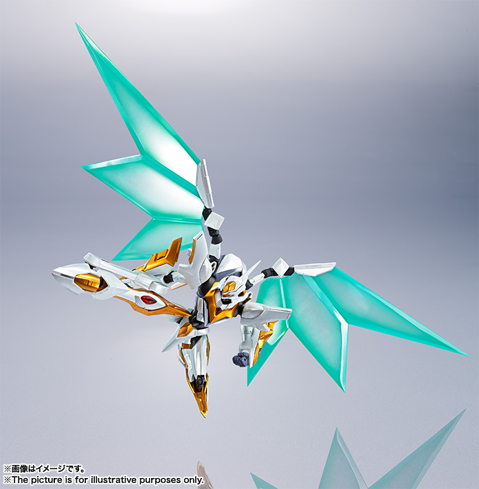 "Gundam : Code Geass - Metal Robot Side KMF ""The Robot Spirits"" (Bandai) Item_235"