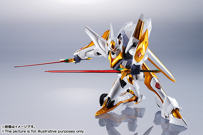 "Gundam : Code Geass - Metal Robot Side KMF ""The Robot Spirits"" (Bandai) Item_237"