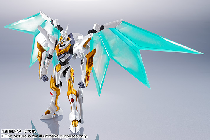 "Gundam : Code Geass - Metal Robot Side KMF ""The Robot Spirits"" (Bandai) Item_238"
