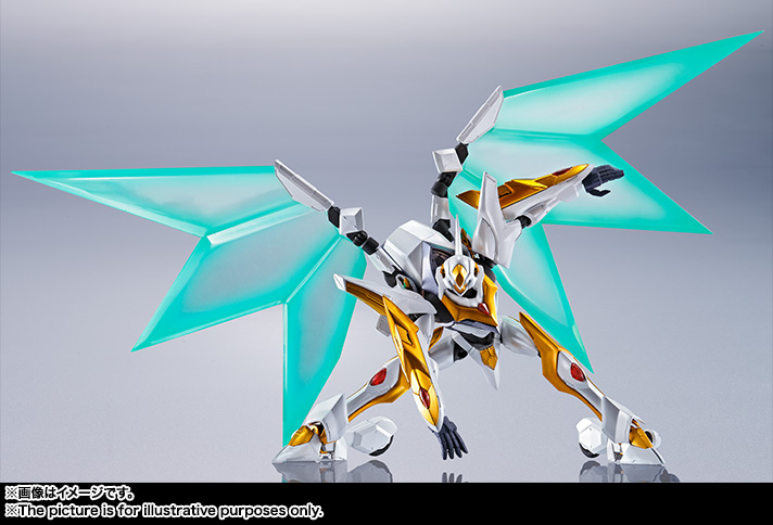"Gundam : Code Geass - Metal Robot Side KMF ""The Robot Spirits"" (Bandai) Item_239"