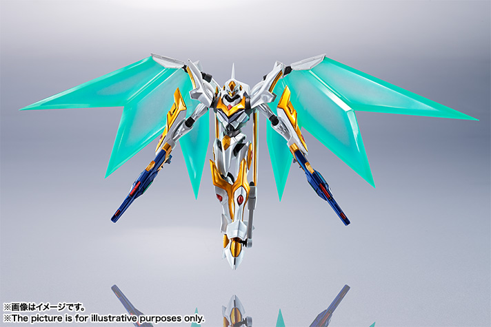 "Gundam : Code Geass - Metal Robot Side KMF ""The Robot Spirits"" (Bandai) Item_240"