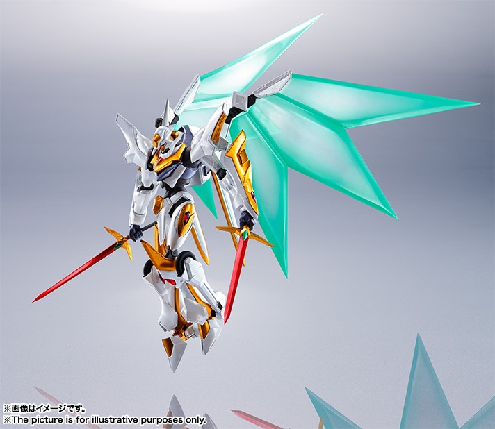 "Gundam : Code Geass - Metal Robot Side KMF ""The Robot Spirits"" (Bandai) Item_242"