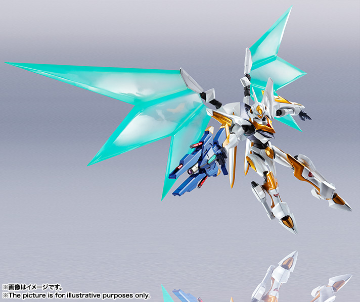 "Gundam : Code Geass - Metal Robot Side KMF ""The Robot Spirits"" (Bandai) Item_244"