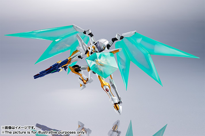"Gundam : Code Geass - Metal Robot Side KMF ""The Robot Spirits"" (Bandai) Item_245"