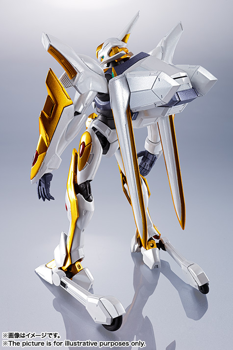 "Gundam : Code Geass - Metal Robot Side KMF ""The Robot Spirits"" (Bandai) Item_250"