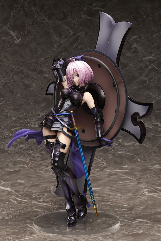 Fate / Grand Order - Shielder Mash Kyrielight Limited ver. 1/7 (Stronger) Ljd1km10