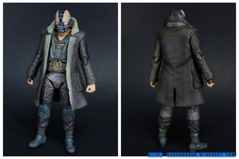 Batman The Dark Knight Rises : Bane Mafex (Medicom Toys) Mafexb15