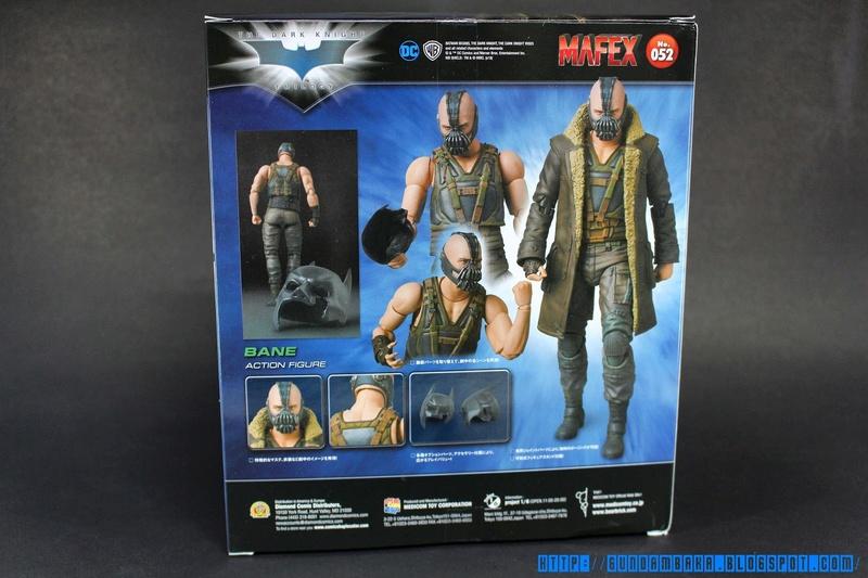 Batman The Dark Knight Rises : Bane Mafex (Medicom Toys) Mafexb24
