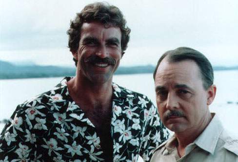 RIP John Hillerman (Higgins dans la série Magnum) Magnum10