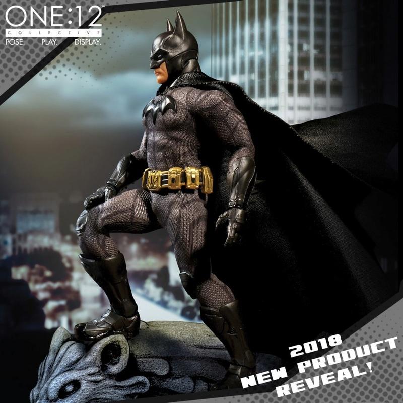 "Sovereign Knight Batman - One 12"" (Mezco Toys) Mezco-12"