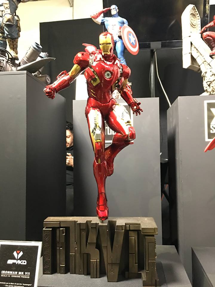 Iron Man Mark VII 1/4 (XM Studios Premium Collectibles) Qhksd210