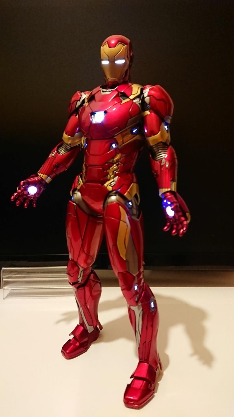 Captain America : Civil War - Iron Man Mark XLVI / Mark 46 - 1/9 Diecast (King Arts) R831jm10