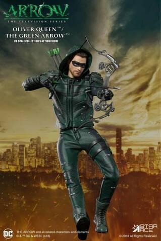 Green Arrow saison 5 à Capuche Veste en cuir with Attached Hood