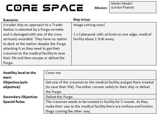 Mission 30: Medic! Medic! (Lindon Paxton) Missio39