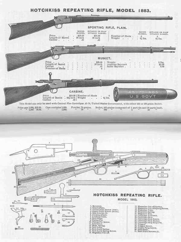 Winchester-Hotchkiss Mod 1879 22489810