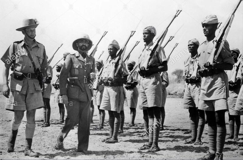 Des P14 dans l'armée Ethiopienne.  Depose10